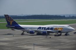 JA8037さんが、横田基地で撮影したアトラス航空 747-446の航空フォト(飛行機 写真・画像)