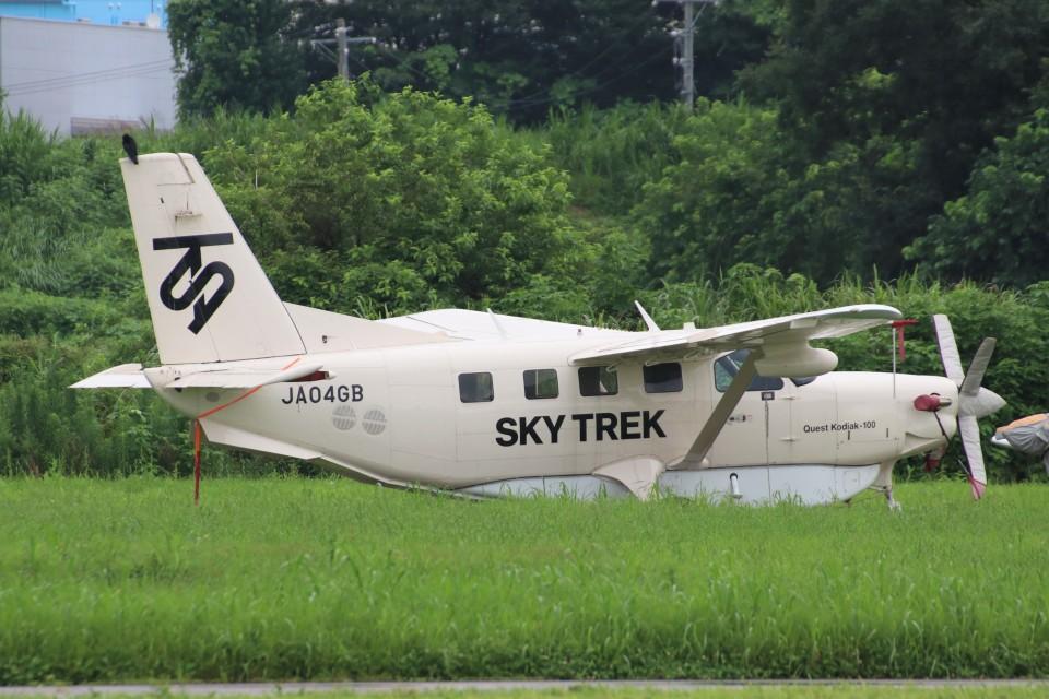 YASKYさんのスカイトレック Quest Kodiak (JA04GB) 航空フォト