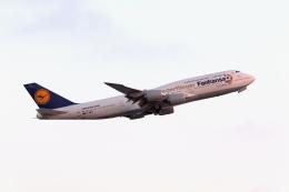 takoyanさんが、ロサンゼルス国際空港で撮影したルフトハンザドイツ航空 747-830の航空フォト(飛行機 写真・画像)
