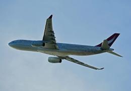 Souma2005さんが、香港国際空港で撮影したキャセイドラゴン A330-342の航空フォト(飛行機 写真・画像)