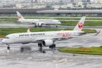 まんぼ しりうすさんが、羽田空港で撮影した日本航空 A350-941の航空フォト(飛行機 写真・画像)