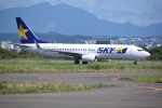 kumagorouさんが、仙台空港で撮影したスカイマーク 737-81Dの航空フォト(飛行機 写真・画像)