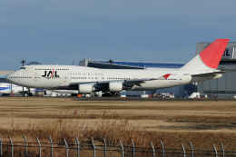 Tomo-Papaさんが、成田国際空港で撮影した日本航空 747-446の航空フォト(飛行機 写真・画像)