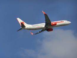 ヒロリンさんが、パース空港で撮影したマリンド・エア 737-8GPの航空フォト(飛行機 写真・画像)