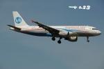 tassさんが、成田国際空港で撮影したウラジオストク航空 A320-214の航空フォト(飛行機 写真・画像)