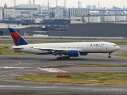 池さん@JA381Aさんが、羽田空港で撮影したデルタ航空 777-232/LRの航空フォト(飛行機 写真・画像)