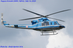 Chofu Spotter Ariaさんが、名古屋飛行場で撮影した愛知県警察 412EPの航空フォト(飛行機 写真・画像)
