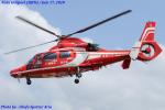 Chofu Spotter Ariaさんが、奈多ヘリポートで撮影した福岡市消防局消防航空隊 AS365N3 Dauphin 2の航空フォト(飛行機 写真・画像)