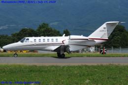 Chofu Spotter Ariaさんが、松本空港で撮影した静岡エアコミュータ 525A Citation CJ2の航空フォト(飛行機 写真・画像)