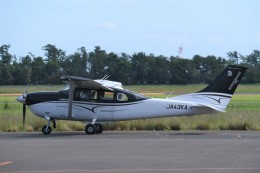 kumagorouさんが、仙台空港で撮影した共立航空撮影 T206H Turbo Stationairの航空フォト(飛行機 写真・画像)