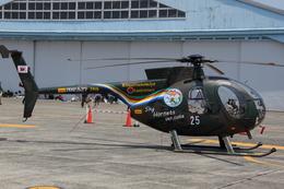 ティーガーさんが、宇都宮飛行場で撮影した陸上自衛隊 OH-6Dの航空フォト(飛行機 写真・画像)