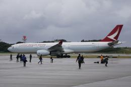 神宮寺ももさんが、那覇空港で撮影したキャセイドラゴン A330-342の航空フォト(飛行機 写真・画像)