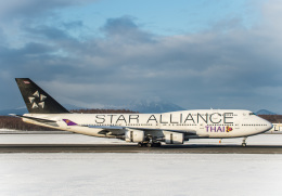 Cygnus00さんが、新千歳空港で撮影したタイ国際航空 747-4D7の航空フォト(飛行機 写真・画像)