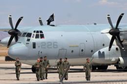 キャスバルさんが、フェニックス・メサ ゲートウェイ空港で撮影したアメリカ海兵隊 KC-130J Herculesの航空フォト(飛行機 写真・画像)