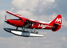 voyagerさんが、バンクーバー・ハーバー・ウォーター空港で撮影したハーバー・エア・シープレーンズ DHC-3T Vazar Turbine Otterの航空フォト(飛行機 写真・画像)