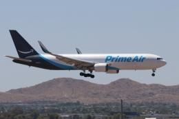キャスバルさんが、フェニックス・スカイハーバー国際空港で撮影したアマゾン・プライム・エア 767-3P6/ER(BDSF)の航空フォト(飛行機 写真・画像)