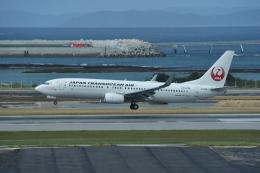 turenoアカクロさんが、那覇空港で撮影した日本トランスオーシャン航空 737-8Q3の航空フォト(飛行機 写真・画像)
