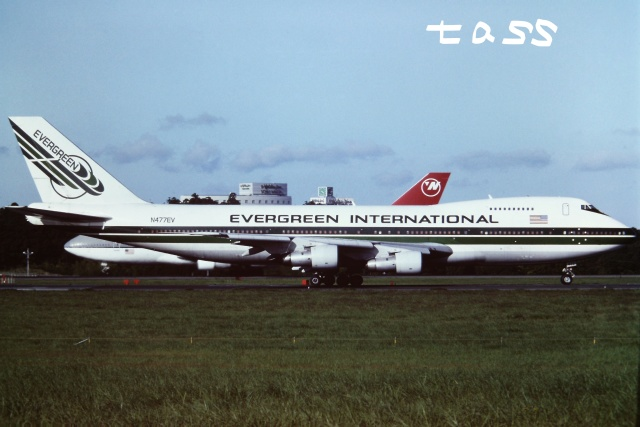tassさんが、成田国際空港で撮影したエバーグリーン航空 747SR-46(SF)の航空フォト(飛行機 写真・画像)