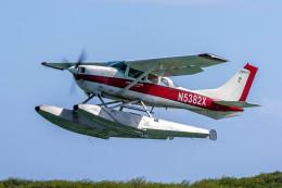 紫電さんが、ダニエル・K・イノウエ国際空港で撮影したIsland Seaplane Service U206G Stationair 6の航空フォト(飛行機 写真・画像)