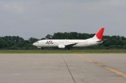 Hiro-hiroさんが、仙台空港で撮影したJALエクスプレス 737-446の航空フォト(飛行機 写真・画像)