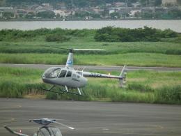 ヒコーキグモさんが、岡南飛行場で撮影したオートパンサー R66 Turbineの航空フォト(飛行機 写真・画像)