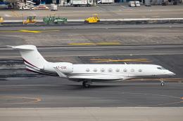 SGR RT 改さんが、羽田空港で撮影したカタール・エグゼクティブ G650 (G-VI)の航空フォト(飛行機 写真・画像)