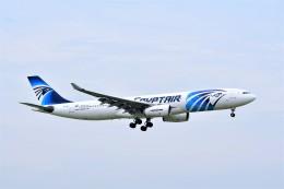 Hiro Satoさんが、スワンナプーム国際空港で撮影したエジプト航空 A330-343Xの航空フォト(飛行機 写真・画像)