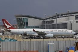 aki241012さんが、福岡空港で撮影したキャセイドラゴン A330-343Xの航空フォト(飛行機 写真・画像)