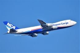 amagoさんが、スワンナプーム国際空港で撮影した日本貨物航空 747-8KZF/SCDの航空フォト(飛行機 写真・画像)