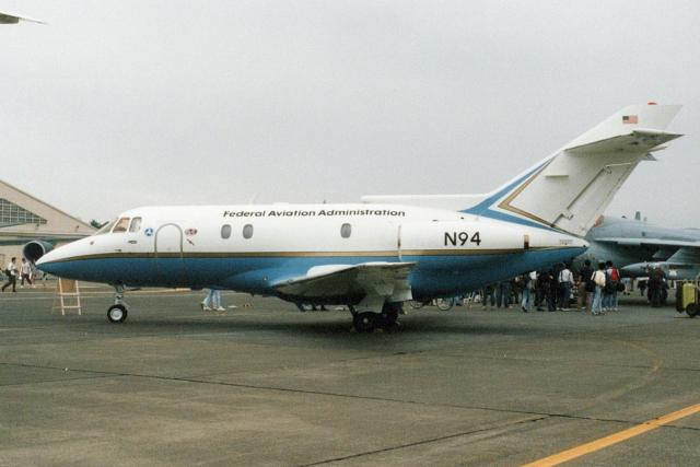 banshee02さんが、横田基地で撮影した連邦航空局 BAe-125-800Aの航空フォト(飛行機 写真・画像)