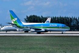 パール大山さんが、マイアミ国際空港で撮影したエア・フロリダ 737-2T4/Advの航空フォト(飛行機 写真・画像)