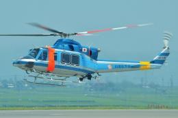 ブルーさんさんが、静岡空港で撮影した山梨県警察 412EPの航空フォト(飛行機 写真・画像)