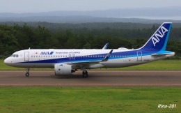 RINA-281さんが、能登空港で撮影した全日空 A320-271Nの航空フォト(飛行機 写真・画像)