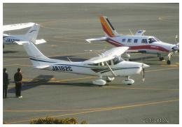 F.YUKIHIDEさんが、岡南飛行場で撮影した日本個人所有 182S Skylaneの航空フォト(飛行機 写真・画像)