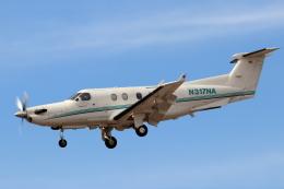 キャスバルさんが、フェニックス・スカイハーバー国際空港で撮影したNATIVE AIR SERVICES PC-12/45の航空フォト(飛行機 写真・画像)