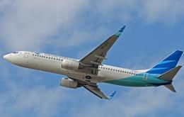 航空フォト:PK-GFF ガルーダ・インドネシア航空 737-800