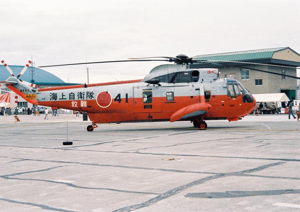 masahiさんの海上自衛隊 Mitsubishi S-61 (8941) 航空フォト