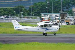 pringlesさんが、熊本空港で撮影した崇城大学 172S Skyhawk SPの航空フォト(飛行機 写真・画像)