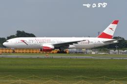 tassさんが、成田国際空港で撮影したオーストリア航空 777-2B8/ERの航空フォト(飛行機 写真・画像)
