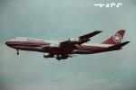 tassさんが、ロンドン・ヒースロー空港で撮影したエア・カナダ 747-133の航空フォト(飛行機 写真・画像)