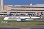 シグナス021さんが、羽田空港で撮影したシンガポール航空 A350-941の航空フォト(飛行機 写真・画像)