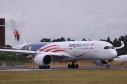 Mr.boneさんが、成田国際空港で撮影したマレーシア航空 A350-941の航空フォト(飛行機 写真・画像)