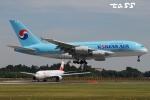 tassさんが、成田国際空港で撮影した大韓航空 A380-861の航空フォト(飛行機 写真・画像)