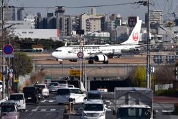 sukiさんが、伊丹空港で撮影した日本航空 737-846の航空フォト(飛行機 写真・画像)