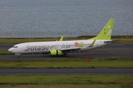 SIさんが、羽田空港で撮影したソラシド エア 737-81Dの航空フォト(飛行機 写真・画像)
