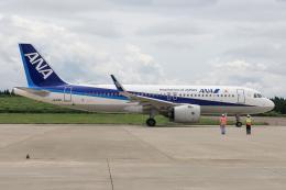 西風さんが、大館能代空港で撮影した全日空 A320-271Nの航空フォト(飛行機 写真・画像)