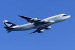 kaeru6006さんが、羽田空港で撮影したキャセイパシフィック航空 747-412の航空フォト(飛行機 写真・画像)