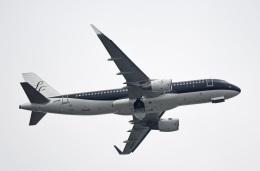 チャーリーマイクさんが、羽田空港で撮影したスターフライヤー A320-214の航空フォト(飛行機 写真・画像)