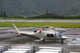 じーのさんさんが、八丈島空港で撮影した日本法人所有 AW109SPの航空フォト(飛行機 写真・画像)