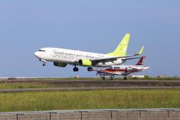 JOJOさんが、大分空港で撮影したソラシド エア 737-81Dの航空フォト(飛行機 写真・画像)